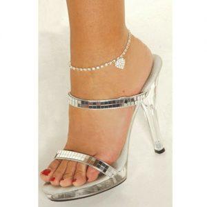 Multi-pattern Love Heart Star Wedding Sandal Beach Anklet